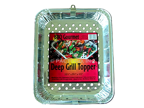 Extra Deep Grill Topper Foil Pan