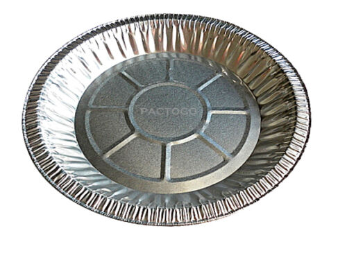 "10"" Foil Pie Pan 1 3/16"" Deep 125/PK"