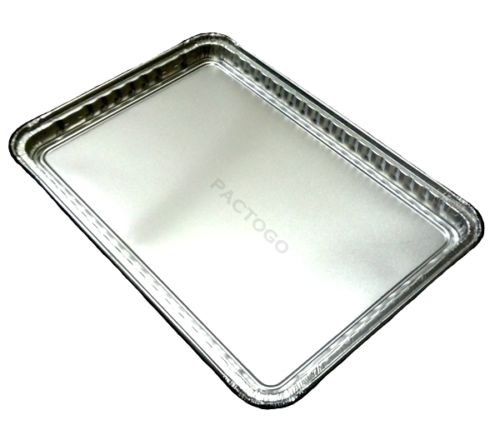 "Durable 16"" x 11"" Foil Cookie Sheet Pan"