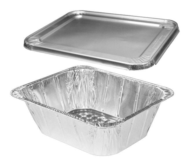 Half-Size Extra Deep Steam Table Pan w/Lid