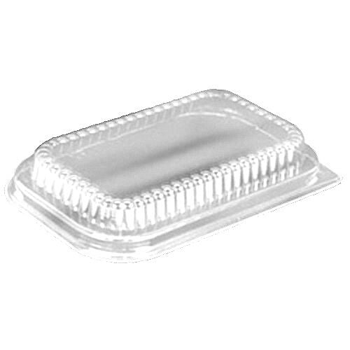 Handi-Foil Low-Dome Lid For 1 lb. Foil Loaf Pan 400/CS
