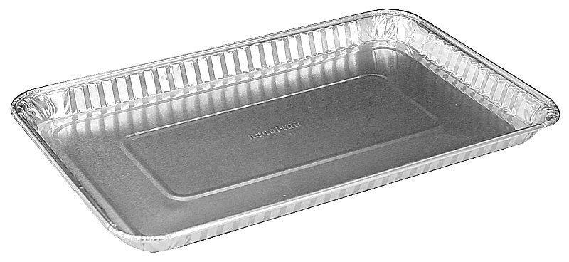 "Handi-Foil 11"" x 7"" Oblong Foil Danish Pan"