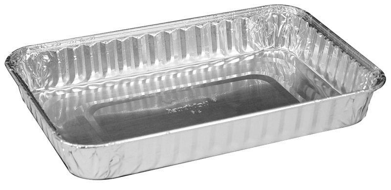 "Handi-Foil 9"" x 6"" Oblong Foil Danish Pan"