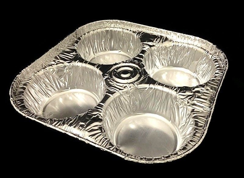 Handi-Foil 4-Cavity Foil Muffin Pan