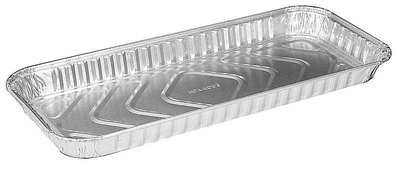 "Handi-Foil 12"" x 5"" Oblong Danish Pan"