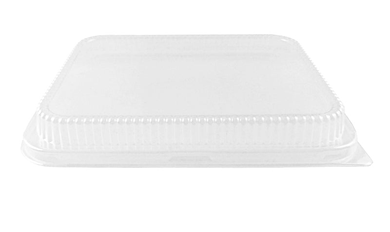 Handi-Foil Clear Low Dome Lid For Half-Size Aluminum Steam Table Pan 100/CS