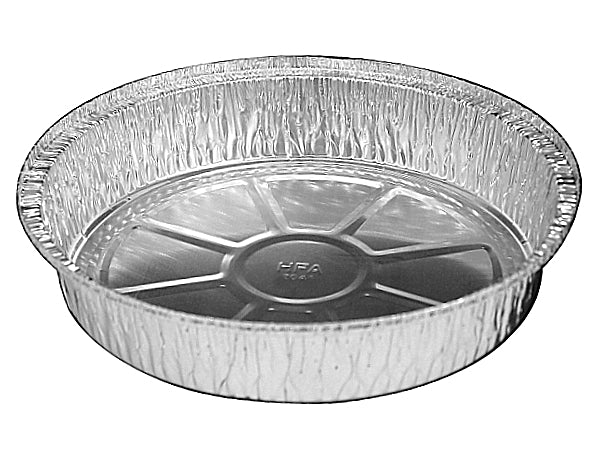 "10"" Round Foil Take-Out Pan"