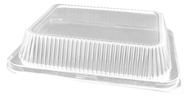 High Dome Clear Lid for Half-Size Aluminum Foil Pan