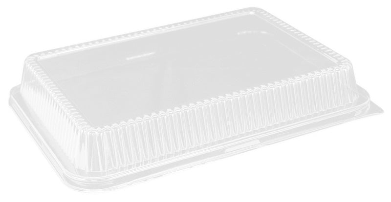 "Clear DOme Lid for 13""x9"" Oblong Cake Pan"