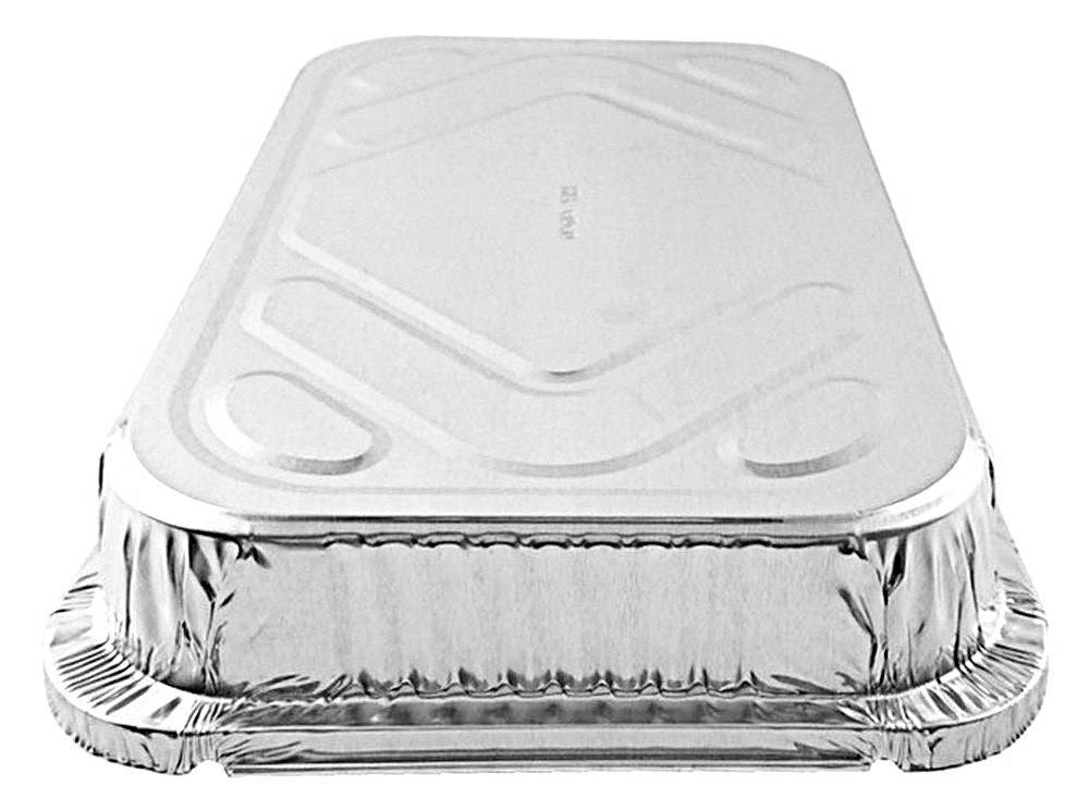 4 lb. Oblong Shallow Entrée Foil Take-Out Pan