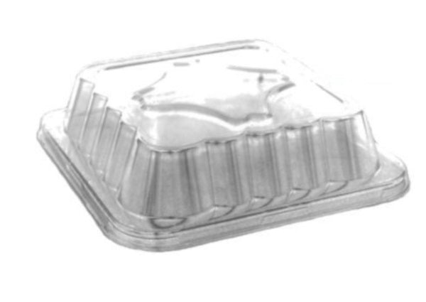 "Handi-Foil Dome Lid for 10"" Square Foil Cake/Poultry Pan"