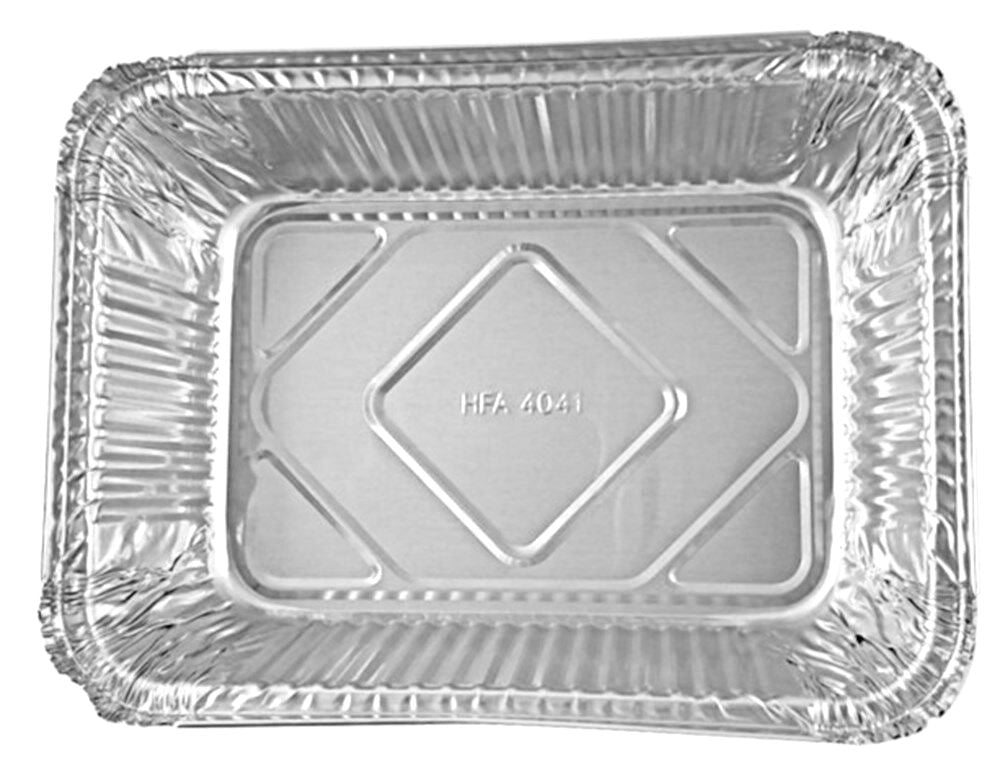 5 lb. Oblong Entrée Foil Take-Out Pan