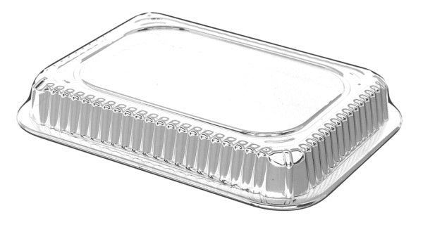 Dome Lid for 1 lb. Oblong Foil Take-Out Pan