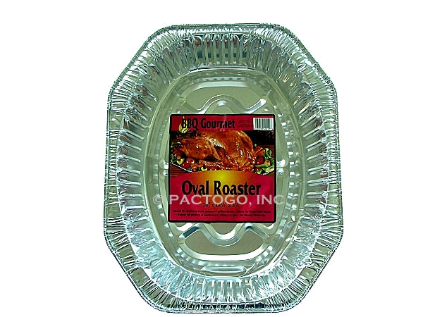Oval BBQ Foil Roaster Pan