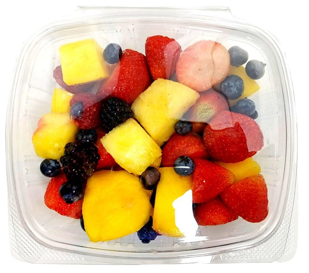 24 oz. Clear Hinged Deli Fruit Container 50/PK