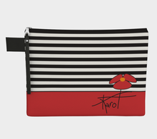 Load image into Gallery viewer, Love my little Karo T zipper bag