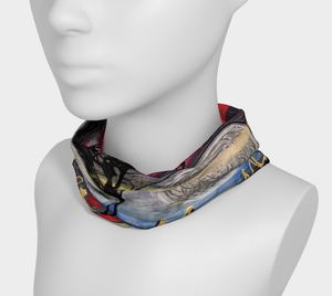Colorful Karo T ART -Bandana