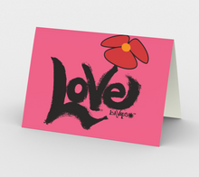 Load image into Gallery viewer, Love is a Virus - spread it - All pink (3)