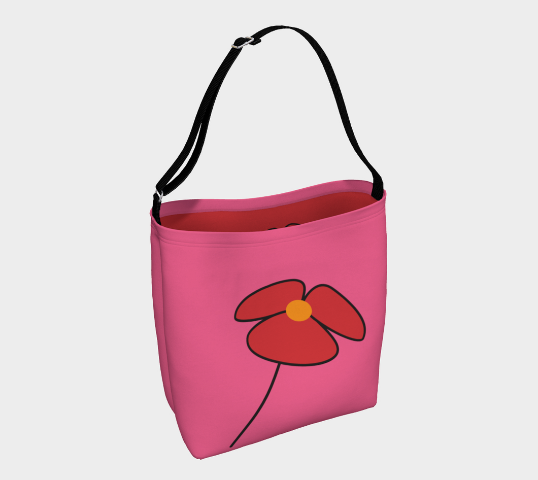 Love  my flower bag I