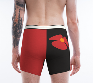 Love his Sexy Boxer - Black y Rojo