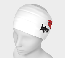 Load image into Gallery viewer, Love my bandana '' Love is a virus '' I