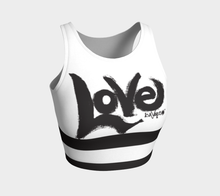 Load image into Gallery viewer, Love my crop top - White