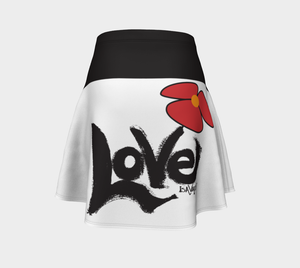 Love my mini skirt - Black & White