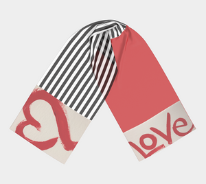Love scarf - 1