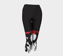 Load image into Gallery viewer, Love is a Virus (TM) official legging signature Capri