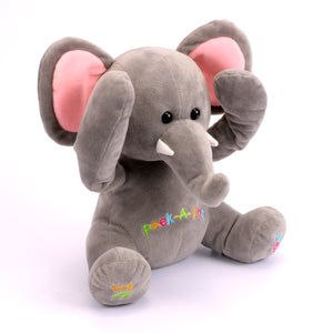 Free Shipping New Peek A Boo Singing Elephant