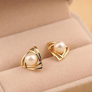Trendy Zinc Alloy Brinco Hot Fashion Simulated Pearl