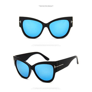 Oversized Sunglasses Women Cat Eye
