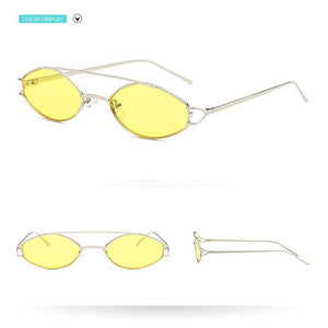Women's Fashion Oval Sunglasses