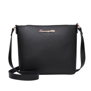 Women Fashion Solid Color Messenger Bag