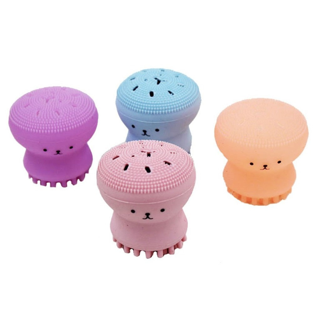 Octopus Shape Silicone Facial Cleanser