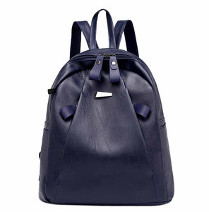 Women's Burglar-Proof Backpack Casual Student Bag Headset Bag Travel Bag