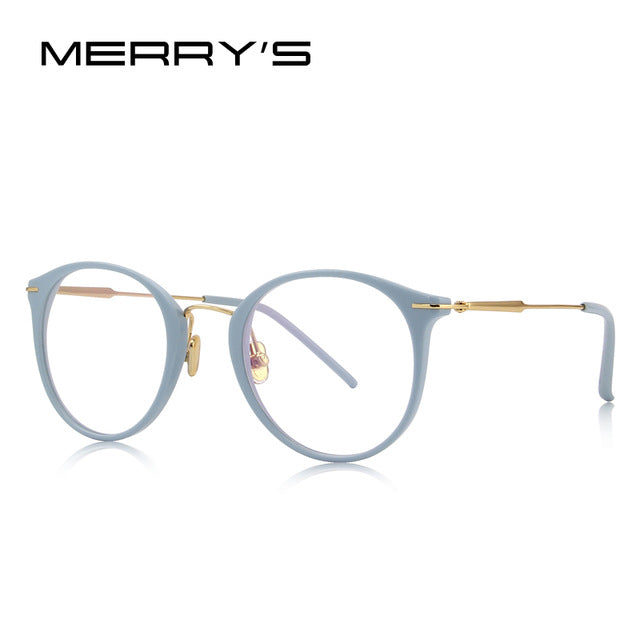 Womens Retro Cat Eye Optical Glasses