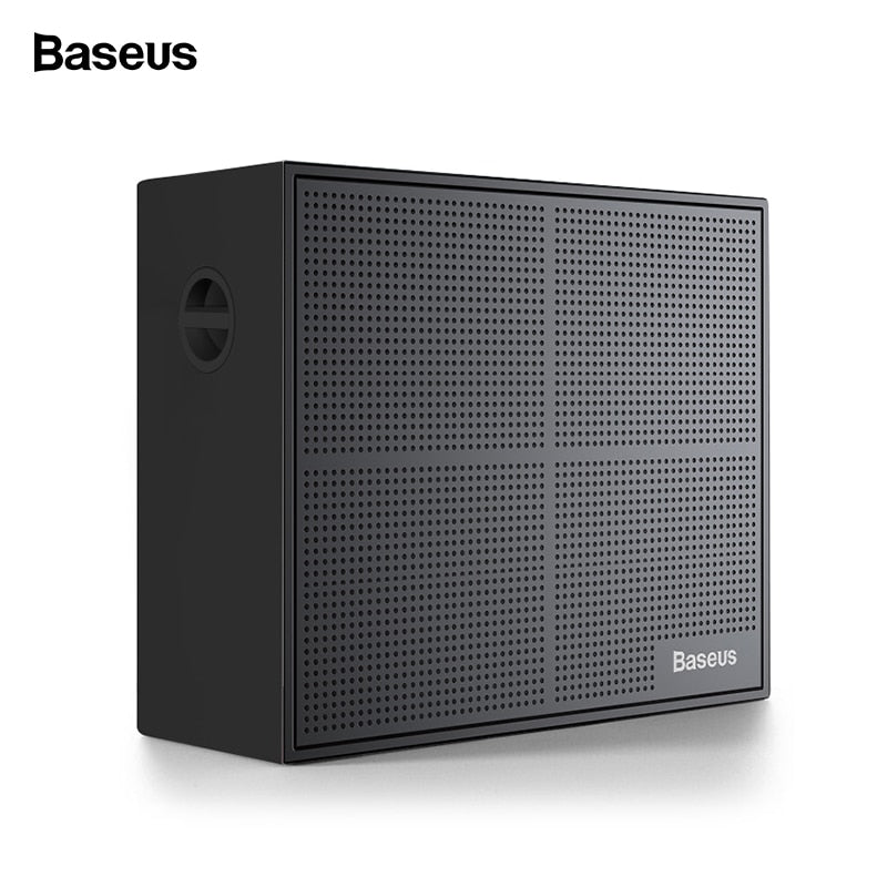 Baseus E05 Portable Bluetooth Wireless Speaker Mini Waterproof Outdoor Speaker With 15-Hour Playtime Bass Sound Box Loudspeaker