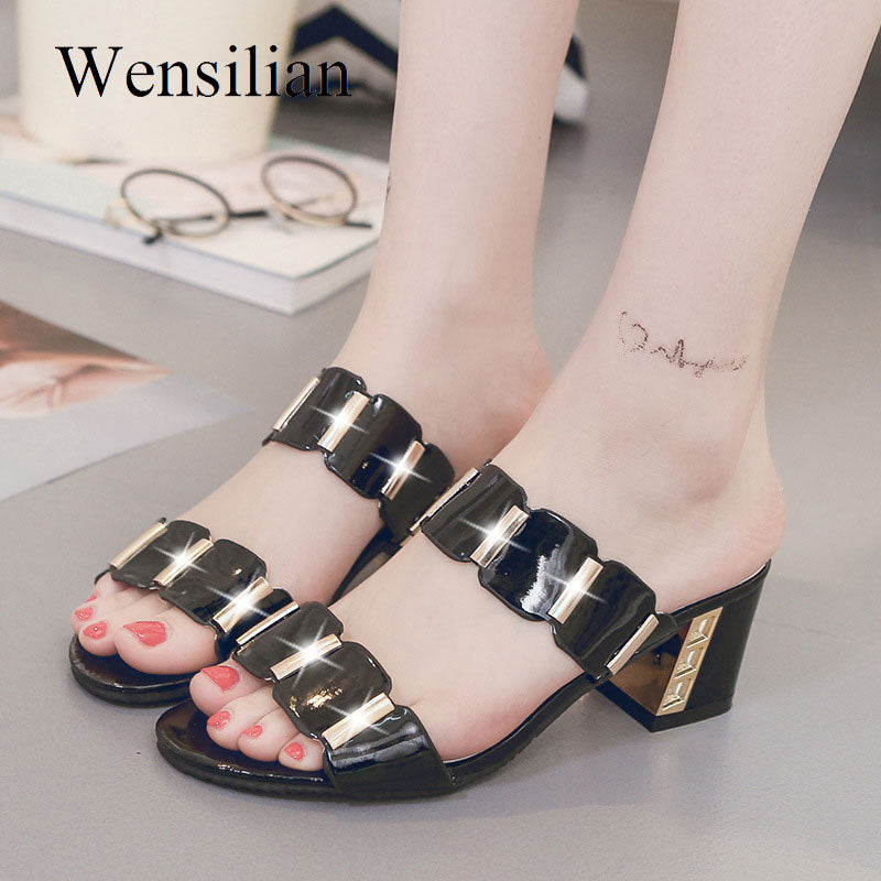 Crystal Sandals Women Classic Sandals