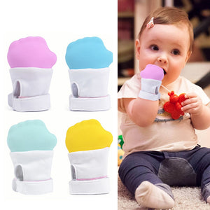 Infant   Silicone Teether Glove