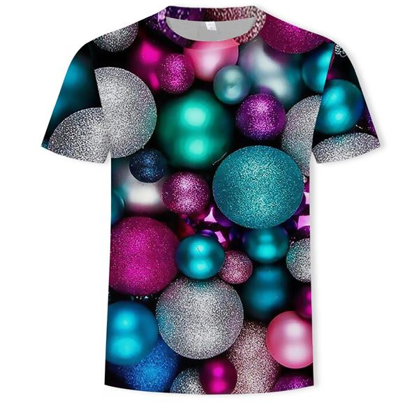 l short sleeve o-neck fashion Funny printed 3D t shirt