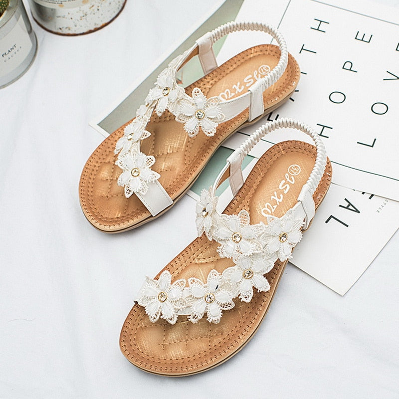 Crystal Fashion Sandals