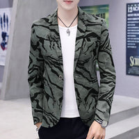 Spring Summer Clothes 2019 Mens Casual Coat Blazer