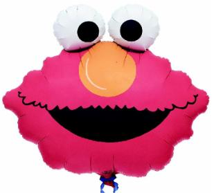 "20"" Elmo Head SuperShape  Balloon"