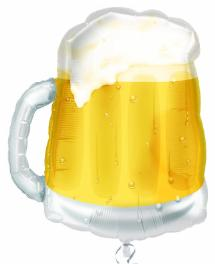 "23"" Beer Mug Foil SuperShape Balloon"