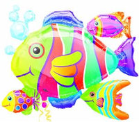 24in Fish Cluster SuperShape Balloon