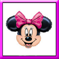 "28"" Minnie Mouse Head SuperShape Balloon"