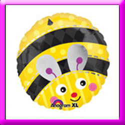 "18"" Bumble Bee  Foil Balloon"