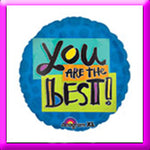 "18"" ""You're The Best"" Foil Balloon"