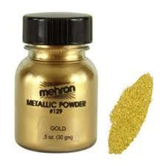 Mehron Metallic Powder - Gold